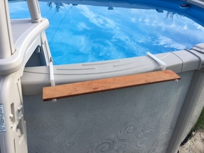 Above Ground Pool Shelf Brackets