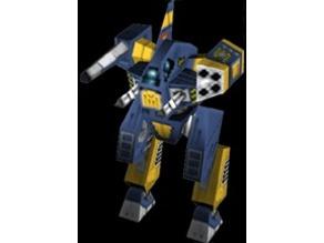MechCommander 2 Razorback (boardgame)