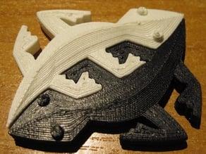 M.C.Escher's Snakes