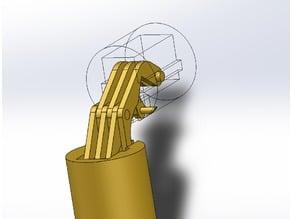 180° Concealed Barrel Hinge