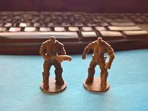 Gears of War: The Board Game - Grenadier miniatures