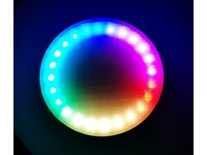RGB Drink Coaster using micro:bit and Kitronik ZIP Halo