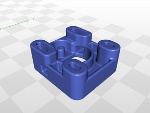 2nd generation of onepiece extruder by Richard Jean