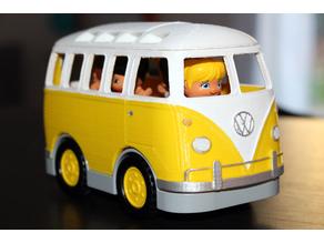 VW Van 1970s - Duplo compatible - ROOF