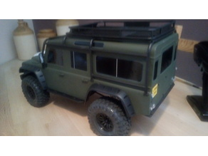 Traxxas TRX4 Defender  - Scale Front and Rear Bumpers