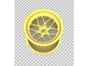 F1 Style Wheel