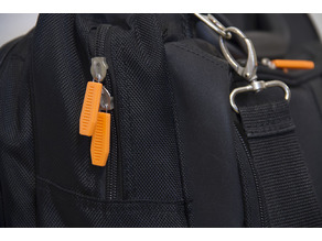 Zipper Pull using paperclip