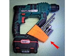 SDS bits holder for Lidl / Parkside drill PABH 20-Li B2