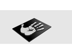 Hand Of Saruman Plate