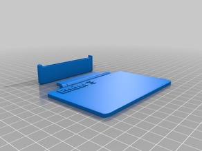 Creality Ender 3 - LCD cover with hinge removable