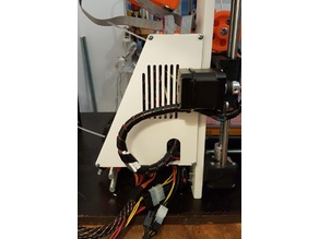 Prusa i3 Ramps & cable box with ATX standards