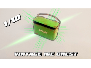 1/10 Scale Vintage Ice Chest