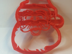 Christmas Santa Cookie Cutter