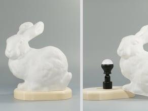 Stanford Bunny lamp