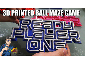 Ready Player One ball maze game