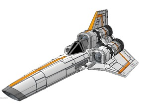 BSG - Colinial Viper MK1 (single-seater)