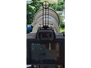 crosshair finder for CANON EOS M50 and EF 500 1:4 L IS USM