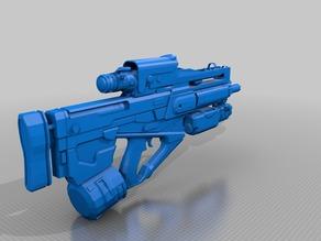 "(Legendary) Destiny ""The Conduit"" Pulse Rifle"