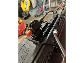 Push Button Igniter Rail Mount (Not-a-Flamethrower)