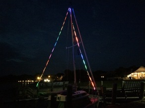 LED system for sailboats