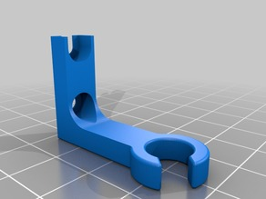 Bed Heater Cable Holder for Duplicator i3 & Maker Select
