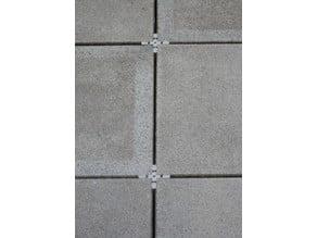 4mm terrace plate cross