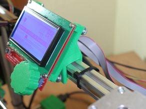 Graphic LCD Bracket for Folger 2020