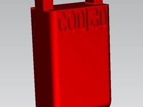 supporto modulare h= 40 mm per CNC morsetto modulare da tavola (d. 6mm.) rev.003 -
