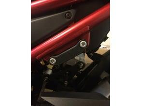Z900 Passenger Peg Cover
