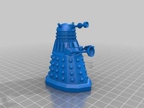Dalek (redrawn) scad & stl