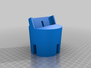 Cup holder phone dock