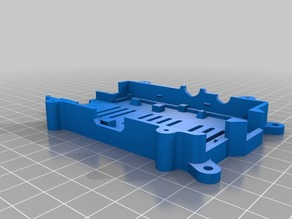Raspberry PI Case SMUK-Remix - mountig holes and top with bolts