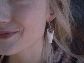 Sign of the Horns Earrings