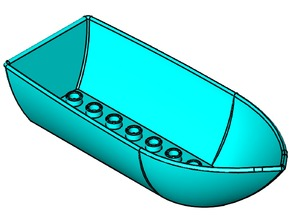 Lego Duplo compatible boat -> easier to print
