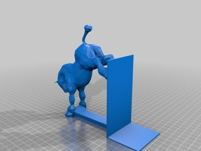 Horse bookend updated (LOW POLY)