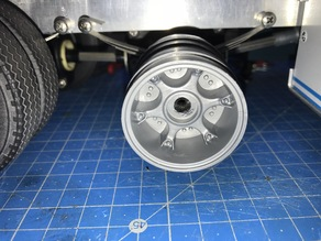 Rims adapter for Robbe rims on Wedico axles