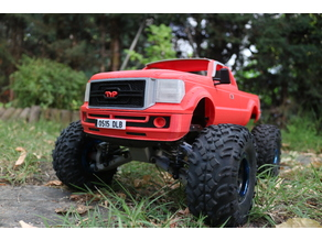 MyRCCar 1/10 Typical Pickup Body