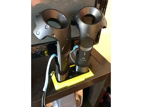 Vive Controller Stand and Charging Station remix
