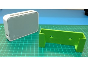 Wall mount for TP-Link TL-SF1005D Switch