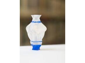 Curvy Square Vase