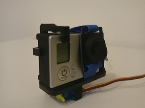 Servo Trigger for GoPro Camera