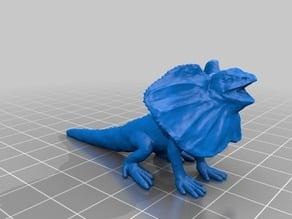 エリマキトカゲ(Frilledlizard)3Dデータ