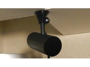Oculus Rift CV1 Clamping Sensor Mount in OpenSCAD