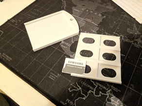 SD Card Sleeve Holder