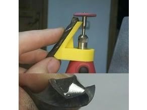 Dremel Drill bit sharpner
