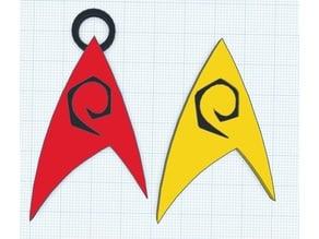 Star Trek Engineering badgenecklace and badge