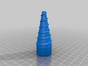 Watering bottle cap / Bouchon d'arrosage pour bouteille en plastique