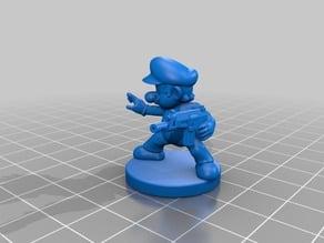 Mario Zombicide Miniature