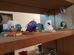 Bubble Bobble 8-Bit Figures