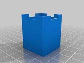 Mold for heatblock silicone insulator (silicone sock)